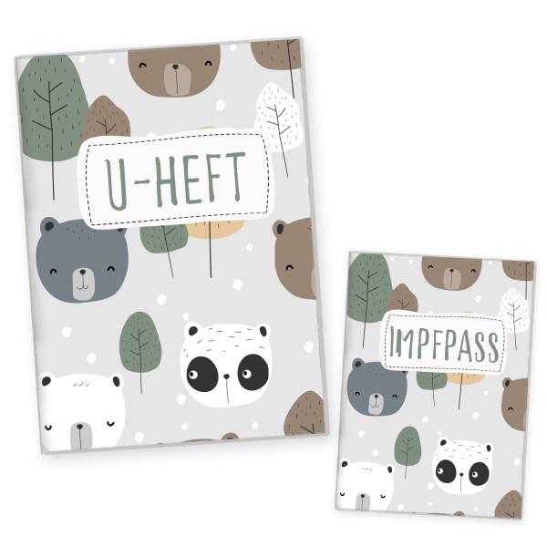 U-Heft & Impfpasshülle Bären