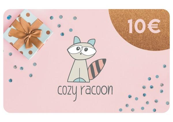 Cozy Racoon - Gutschein